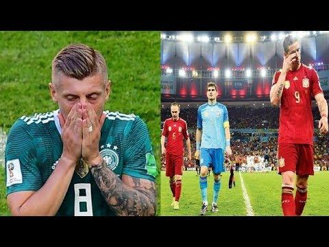 5 منتخبات عظيمة خرجت في الجولة الاولى من بطولات كأس العالم..!!
