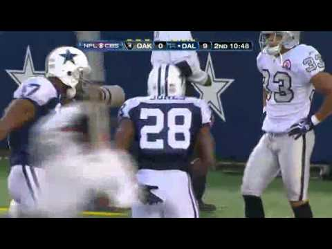 FELIX JONES 46 YARD TOUCHDOWN VS OAKLAND