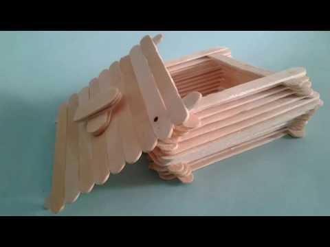How to Make jewellry box | popsicle stick crafts | DIY