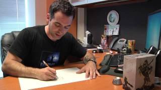 Joe Mad's Drawing Process - Darksiders