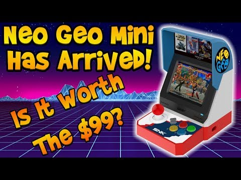 Neo Geo Mini Is Here! Was It Worth It? Unboxing And Review!