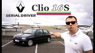 SERIAL DRIVER : essai youngtimer Renault Clio 16S