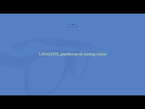 LANALYSTE, Plateforme De Trading Online