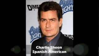 Famous U.S. born Hispanics of European descent