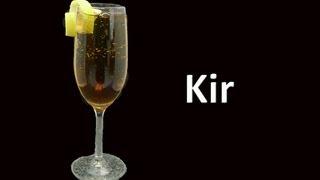 Kir Cocktail Drink Recipe