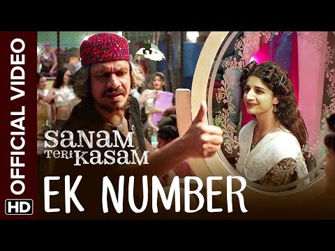 Ek Number Official Video Song | Sanam Teri Kasam | Harshvard