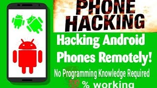 Hack any Android device in 2 Minutes without any programming knowledge