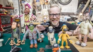 Adam Savage Meets Aardman Animations