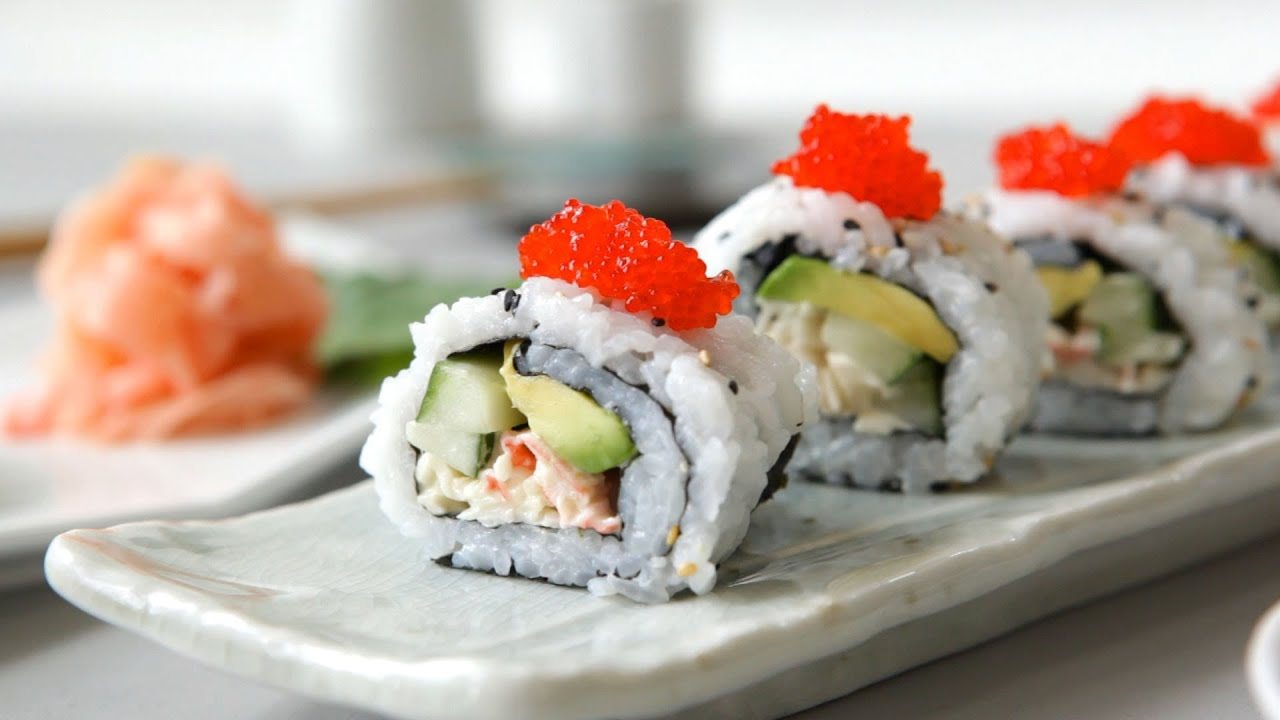 California roll - Allrecipes.nl - YouTube