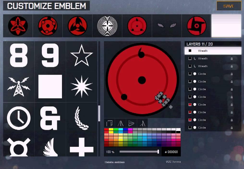 how to make battlefield emblems