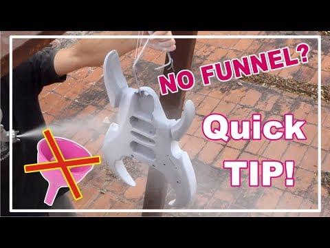 cool tip pour paint without spilling a single drop no funnels