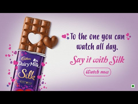 Cadbury Silk Valentine's Day #PopYourHeartOut