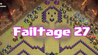 Clash of clans failtage 27 (failure is in the air)