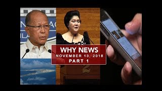 UNTV: Why News (November 13,  2018) PART 1