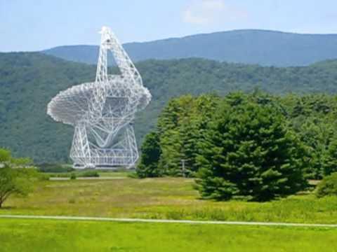 Green Bank Telescope time lapse