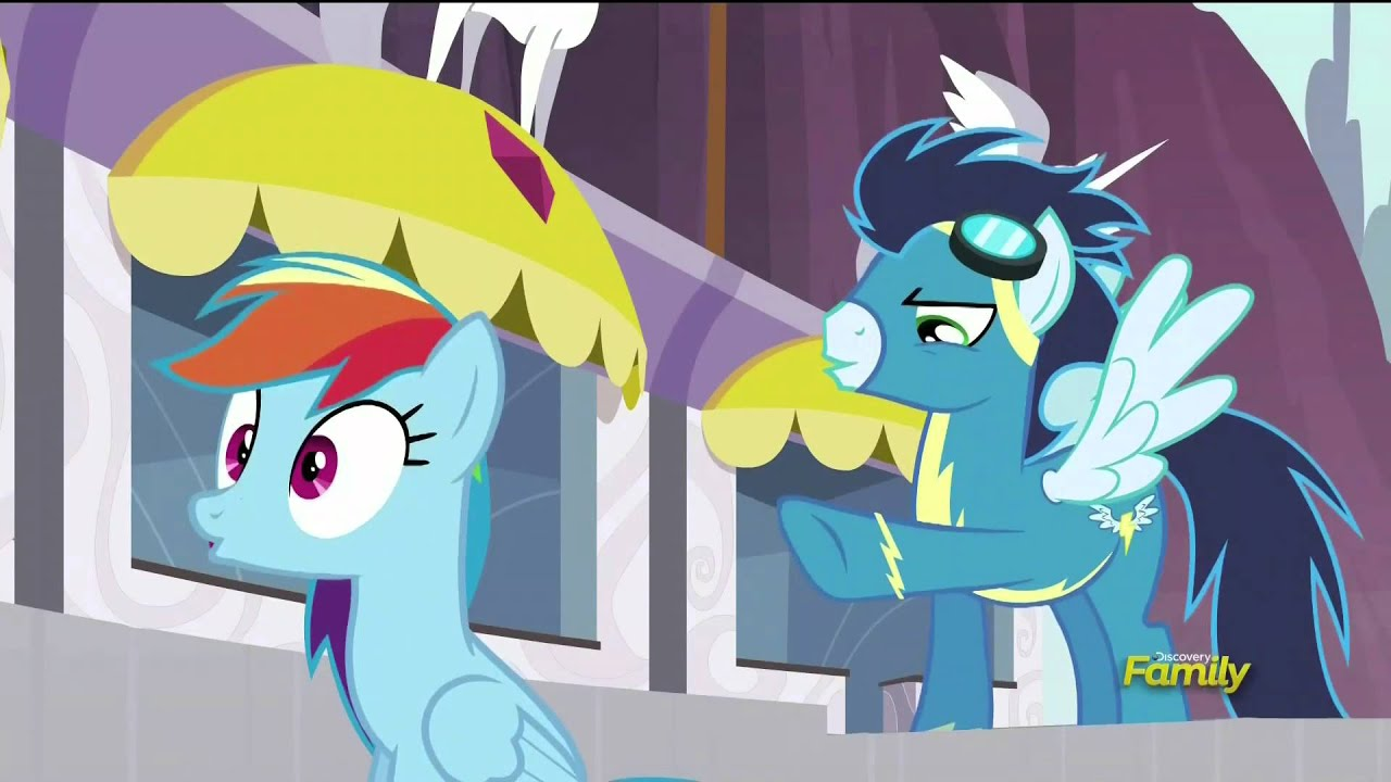 rainbow dash asked to replace spitfire rarity