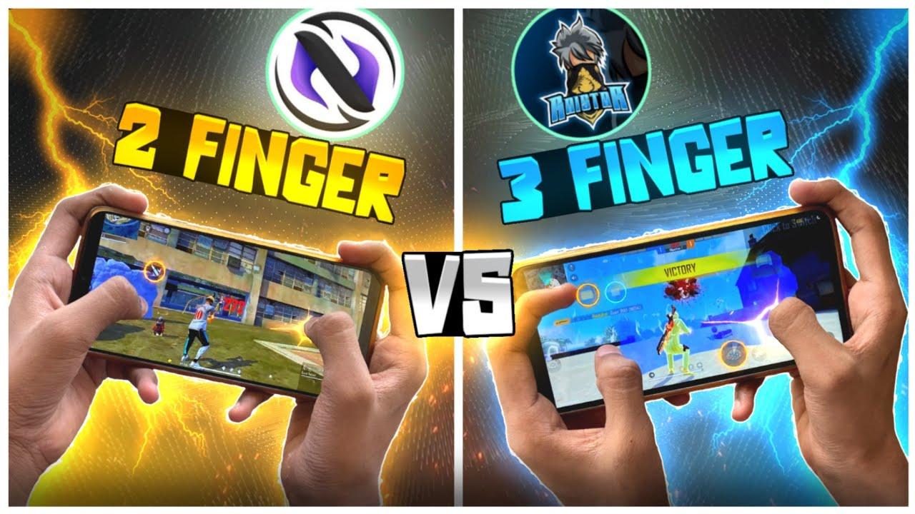 2 Finger  vs 3 Finger Claw | Which Is Best ?? 🔥| Best Custom HUD Setting |-Garena Free Fire