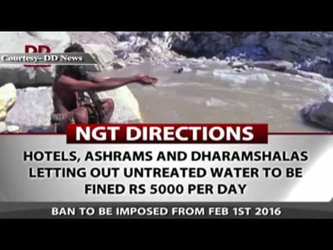 NGT issues directions for Ganga clean up