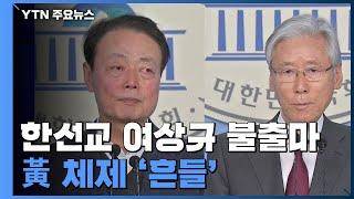 한선교·여상규 불출마...黃 체제 '흔들' / YTN