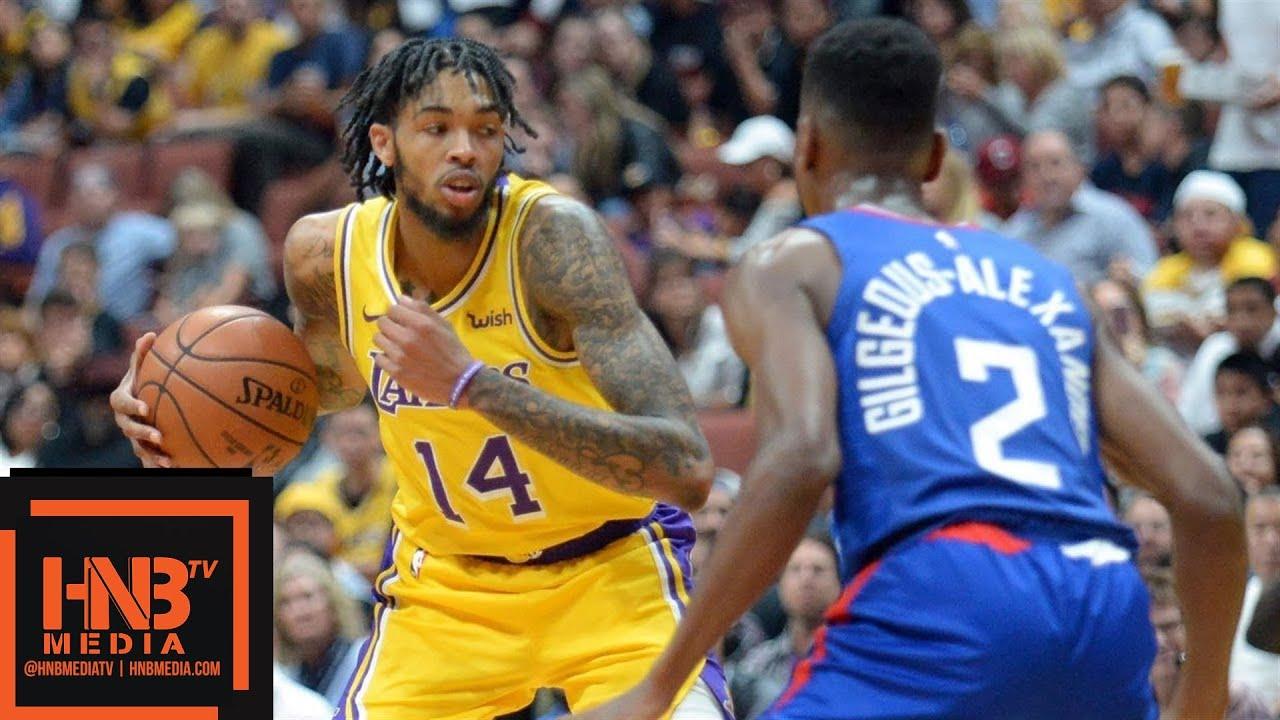 Los Angeles Lakers vs LA Clippers Full Game Highlights | 10.06.2018, NBA Preseason