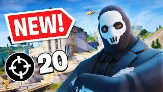 First 20 Kill WIN in Chapter 2 : Season 2 (*NEW* Fortnite Season!)