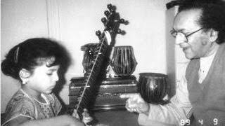 Ravi and Anoushka Shankar