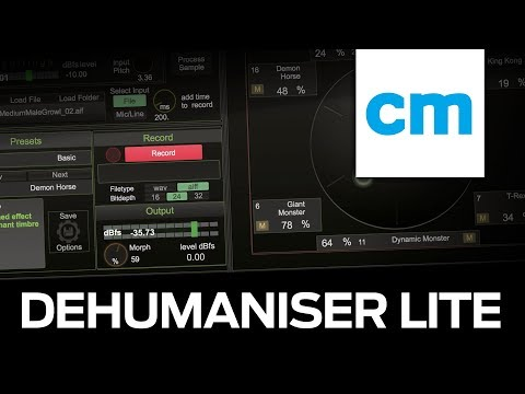 FREE PC/Mac Voice Processor: Krotos Dehumaniser Lite