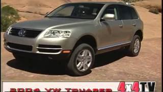4x4TV Test - 2004 Volkswagen Touareg