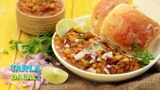 Pav Bhaji ( Pressure Cooking ) by Tarla Dalal