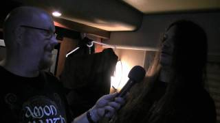 Talking football with Brian Slagel & Corpsegrinder Part 2