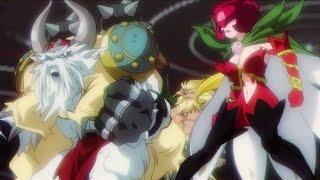 Vikemon e Rosemon VS Imperialdramon