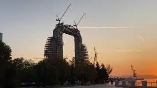 Баку.Creacent development project. Арка поднята!