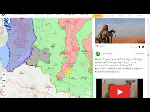 Syria  civil war map 11/12/2017 toady google maps  direction mapping software