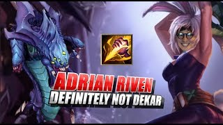 Adrian Riven Definitely Not Dekar