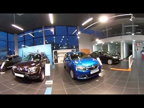 Видео 360 В Шоу Рум автосалона Кан Авто Рено Казань