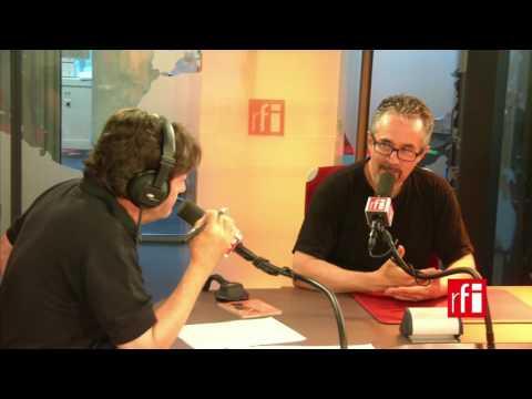 El pianista Manuel Rocheman con Jordi Batallé en RFI