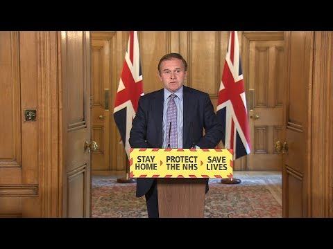 Live: Environment Secretary George Eustice gives daily coronavirus update - May 8 | ITV News