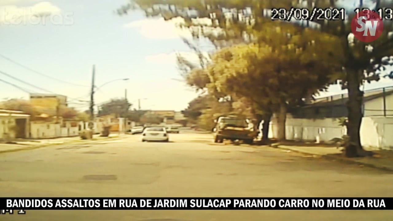 VÍDEO | Bandidos assaltam morador na rua ao lado da Praça H em Sulacap