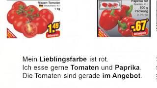 Germana pentru incepatori. Lectia 24. Auf dem Markt (Gemüse)