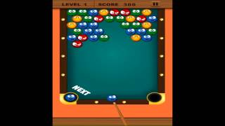 Pool Bubble Shooter - Free Mobile bubble Gameplay tutorial for puzzle lovers
