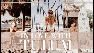 INSTAGRAM GOALS IN TULUM  // Mexico Travel Vlog  // Fashion Mumblr