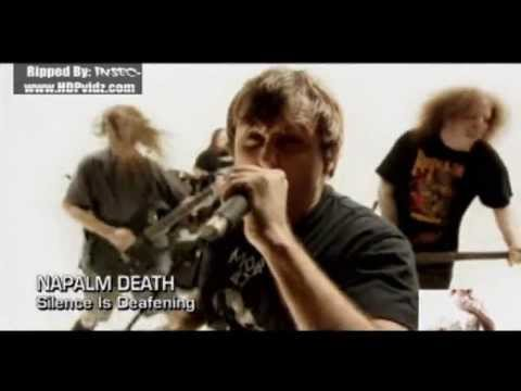 Napalm Death-Silence Is Deafening (Official Music Video) thumb