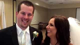 Kenny and Michelle wedding ceremony testimonial at Eaglesnest in Cypress