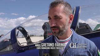 Bari, il saluto dei piloti delle Frecce Tricolori: inaugurata a Bari
