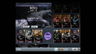 Injustice Gods Among Us iOS Farming Credits Values Battle 1-14