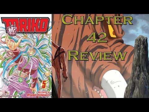 Toriko Chapter 42 Review - Shadow Of Death!!