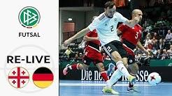 Georgien - Deutschland | Futsal Länderspiel in voller Länge