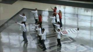 University of PIttsburgh School of Pharmacy Flash Mob