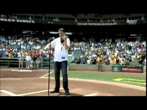 Pittsburgh Violinist Plays Star Spangled Banner and God Bless America at Pirate Game