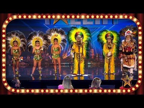 Estos BOLIVIANOS traen una DANZA POPULAR para conquistar España   Inéditos   Got Talent España 2019